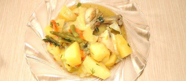 Рагу из курицы рецепт с фото пошагово