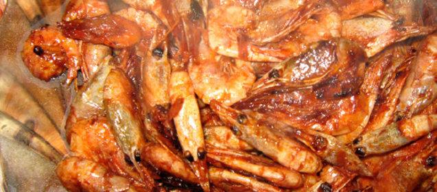 Жареные креветки к пиву рецепт с фото