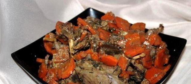 Рецепт утки в мультиварке с рисом