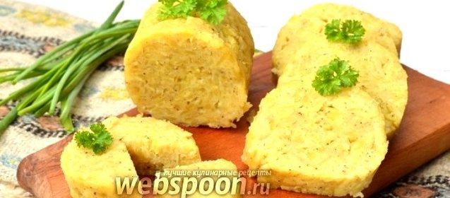 Кнедлики картофельные рецепт с фото