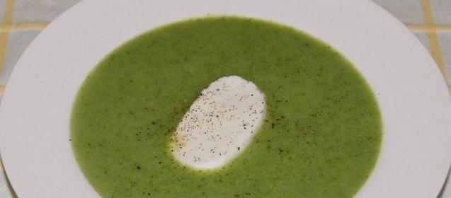 Суп из брокколи и шампиньонов рецепт