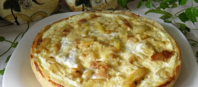 Пирог с замороженными грибами в духовке пошаговый рецепт с