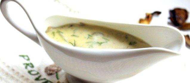Грибной соус рецепт с пошагово с молоком