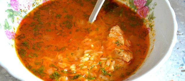 Суп харчо с курицы приготовления в домашних условиях