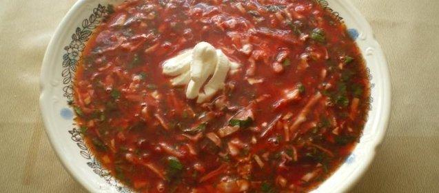 Борщ рецепт пошаговый с фото из свинины