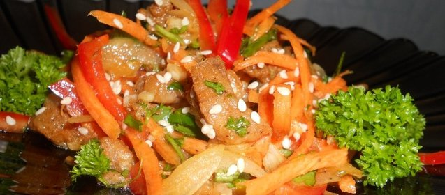Салат из помидоров с сыром и чесноком рецепт
