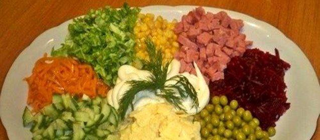 Салат чудо рецепт с