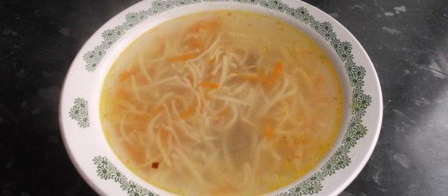Рецепт супа с лапшой рецепт с пошагово