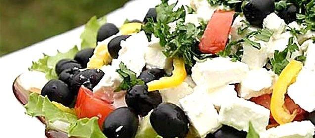 греческий салат рецепт с фетаксой пошаговый с фото