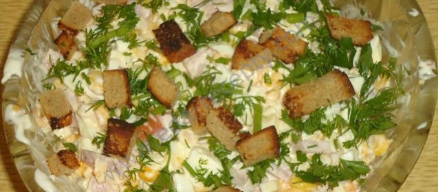 Салаты рецепты простые и вкусные недорого с кальмаром