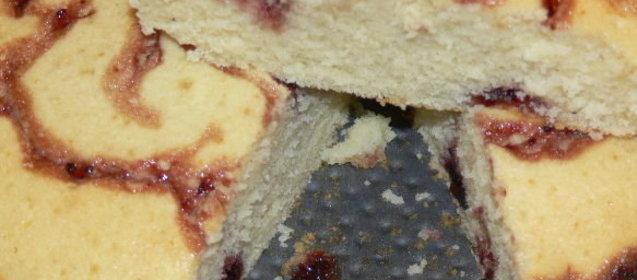 Манник с вареньем рецепт с фото пошагово в духовке