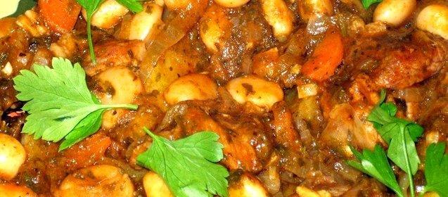 Рецепт лобио с мясом пошагово