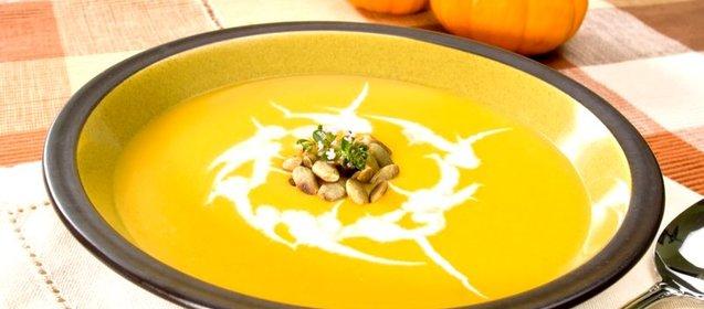 Супы из тыквы рецепты простые