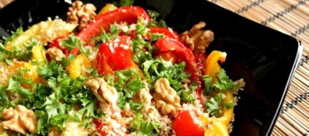 Салаты с перцем болгарским рецепты с