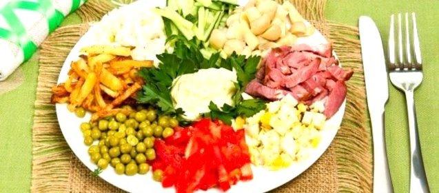 салат баба-яга с фото