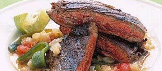Простыеы стейков из свинины