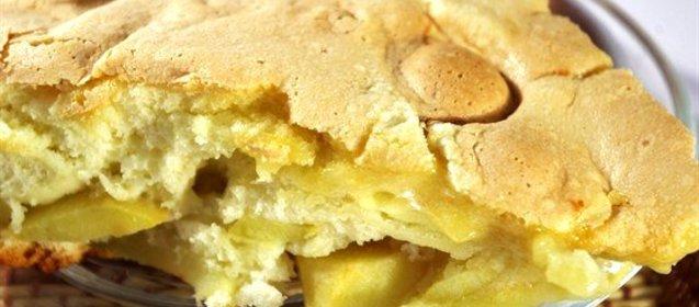 Пирог на молоке на скорую руку пошаговый