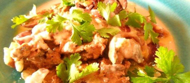 Курица тушеная в мультиварке рецепт с пошаговый