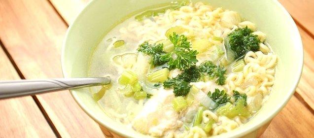 Как сделать лапшу для супа куриного