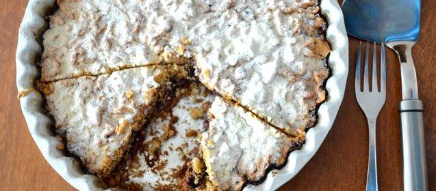 Простой пирог с вареньем рецепт с фото