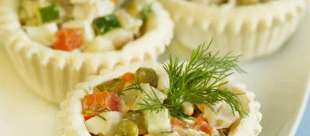 Салат оливье простыеы