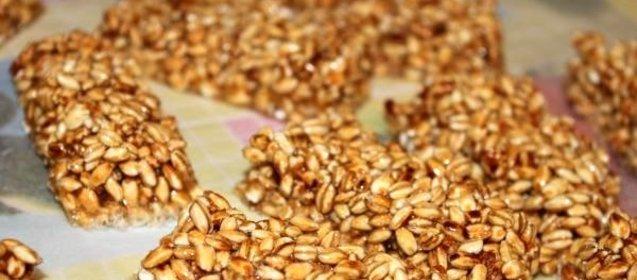 Козинаки из перловки рецепты с фото