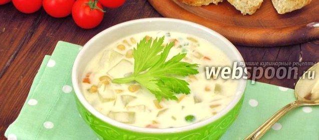 Рецепт суп с консервированной кукурузы