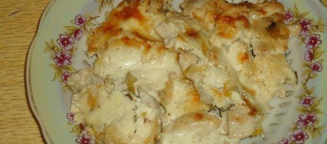 курица в пеленках рецепт