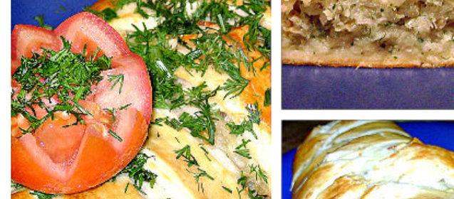 Вкусный рыбный пирог рецепт с фото