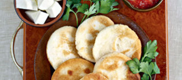 Рецепт кукурузных лепешек по грузинский