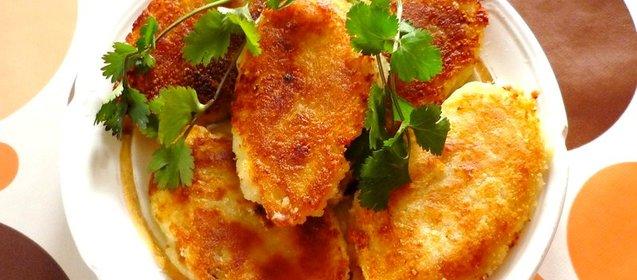 Картофельные зразы с мясным фаршем пошаговый рецепт с фото