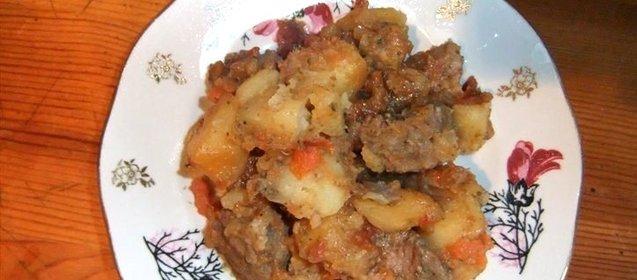 Легкие рецепты из баранины вторые блюда