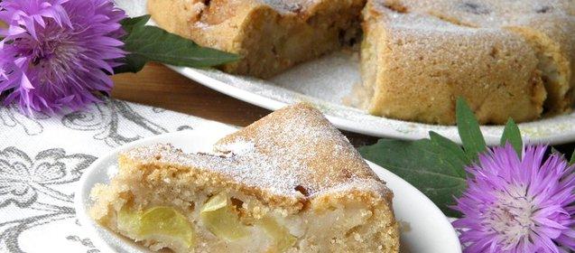 Постный яблочный пирог рецепт с фото