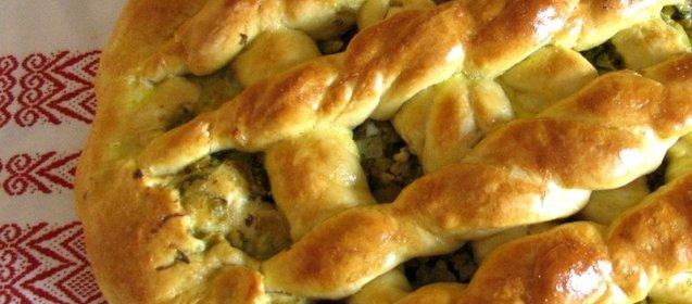 Пирожки дрожжевые с капустой в духовке пошаговый рецепт с фото